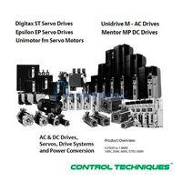Assistência técnica Control Techniques