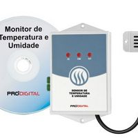 Sensor de temperatura e umidade para data center